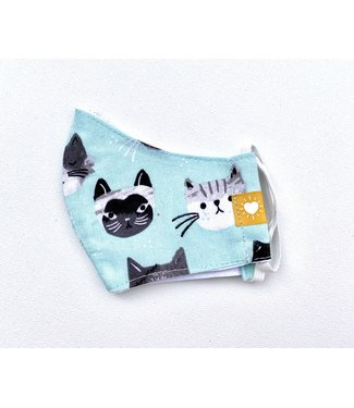 Kid's Face Mask - Cats