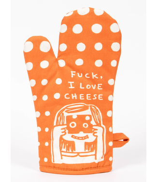 Blue Q Fuck, I Love Cheese - Oven Mitt