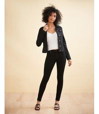 "Yoga Jeans Classic Rise Yoga Skinny - Black / 30"" inseam"