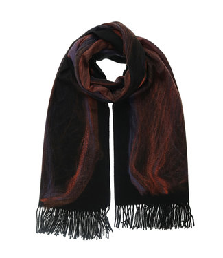 Fraas Scarf - Ombre Needle Punch
