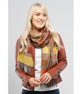 Fraas Scarf - Squared Houndstooth