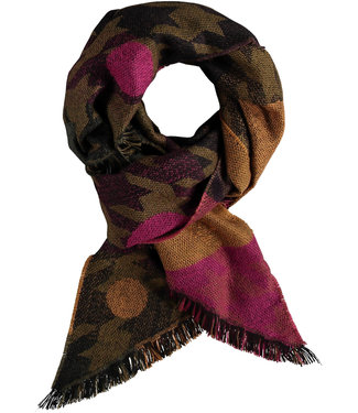 Fraas Scarf - Houndstooth Dot  Bias