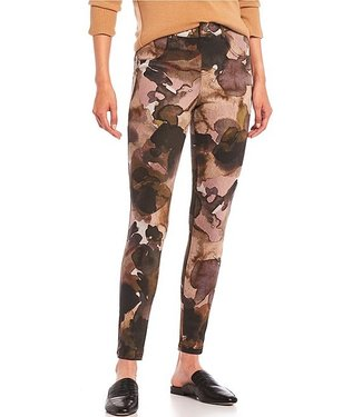 Hue High Rise Watercolour Camo Leggings