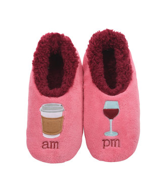 Snoozies AM PM Slippers