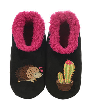 Snoozies Hedgehog/Cactus Slippers