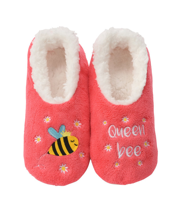 Snoozies Queen Bee Slippers