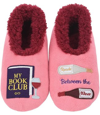 Snoozies My book club slippers