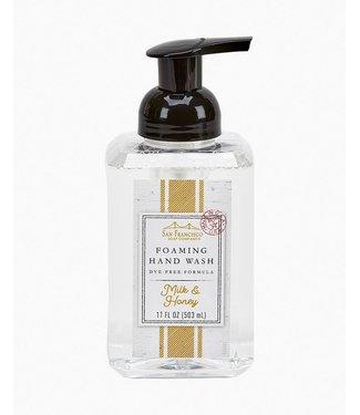 San Francisco Soap Company Foaming Hand Wash - Milk & Honey