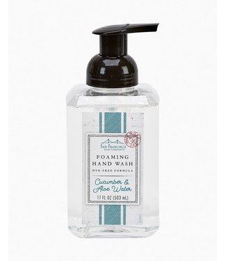 San Francisco Soap Company Foaming Hand Wash - Cucumber & Aloe Vera
