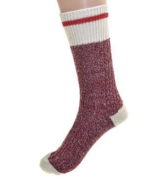Cedar Paddle Boot Socks - Red