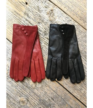 Brume Leather Gloves w Suede