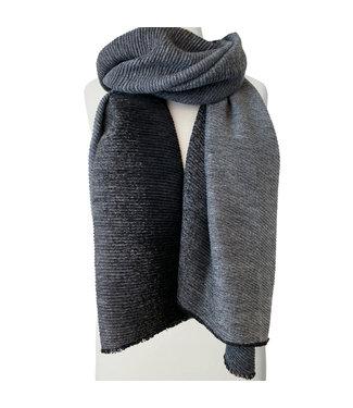 Ombre Scarf - Grey