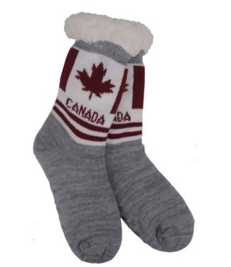Reading socks- Canada solid stripe