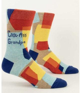 Blue Q Crew Socks - Cool-Ass Grandpa