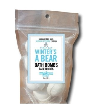 Walton Wood Farm Winter's a Bear Bath Bombs