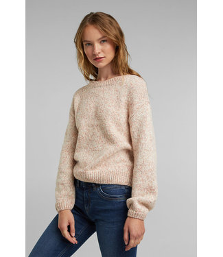 Esprit Short Sweater with puffy sleeves