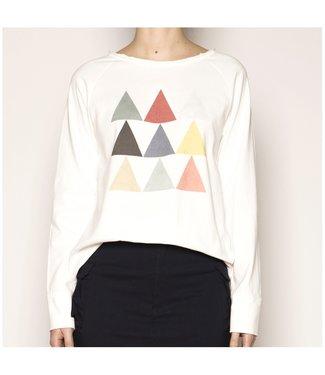 PAN Sweatshirt with triangles