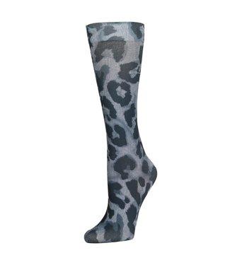 Celeste Stein Knee High Socks - Black Cougar
