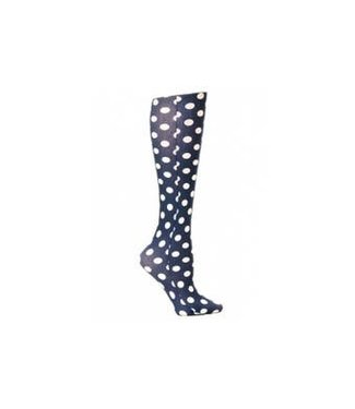 Celeste Stein Knee High Socks - Black Dots