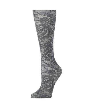 Celeste Stein Knee High Socks - Midnight Lace