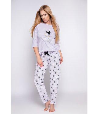 Sensis Pajama with Penguin - Purple