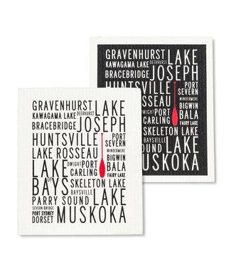 Abbott Muskoka Lakes Dishcloth