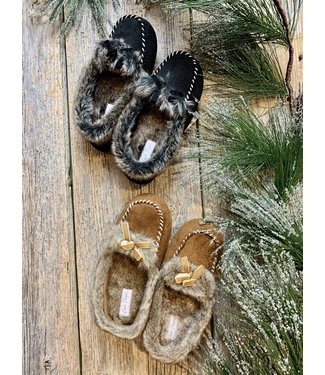 Charlie Paige Moccasin Slippers