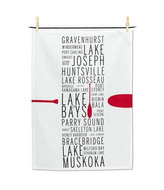 Muskoka Tea Towel