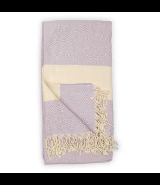 Pokoloko Turkish Towel - Diamond - Purple