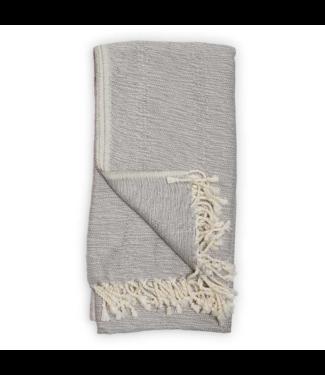 Pokoloko Turkish Towel - Bamboo - Mixed Grey