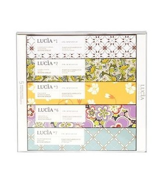 Lucia Lucia Gift Box - Room Spray - Set of 5