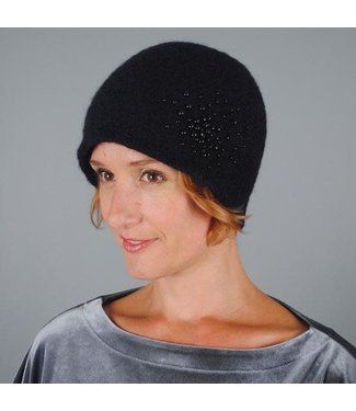 Wool Hat with pearls