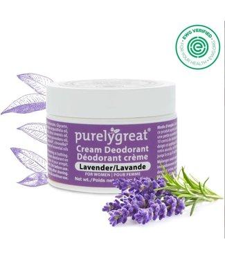 Purely Great Cream Deodorant - Lavender