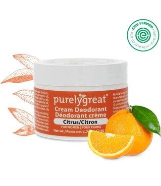 Purely Great Cream Deodorant - Citrus
