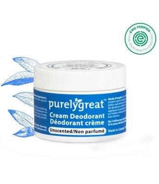 Purely Great Cream Deodorant - Unscented