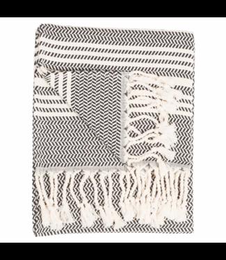 Pokoloko Turkish Hand Towel - Hasir - Carbon
