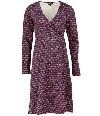 Zilch Dress Cross - Art Deco Navy - XL