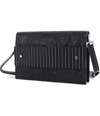 Clutch With Reversible Handle - Black