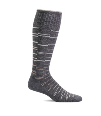 SockWell Compression Socks - Charcoal