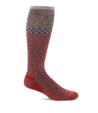 SockWell Compression Socks - Red Rock Botanical