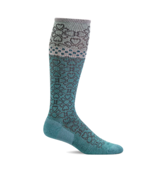 SockWell Compression Socks - Mineral Botanical