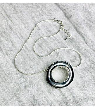 Necklace - Layered Circle