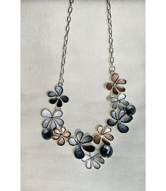 Necklace - Cluster of Flowers