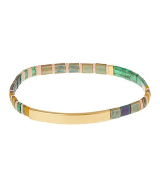 Scout Good Karma Bracelet - Good as Gold - Forest/Gold