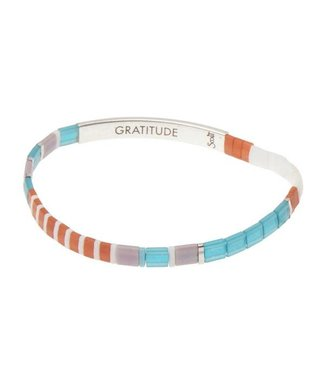 Scout Good Karma Bracelet - Gratitude - Turquoise/Silver