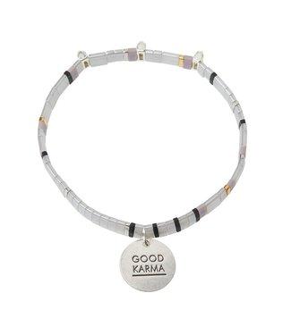 Scout Good Karma Bracelet - Good Karma - Grey Silver