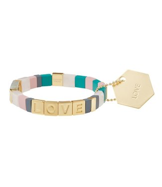 Scout Empower Bracelet - Love - Rose Quartz/Gold