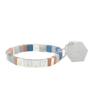 Scout Empower Bracelet - Grit - Labradorite/Silver