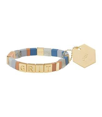 Scout Empower Bracelet - Grit - Labradorite/Gold