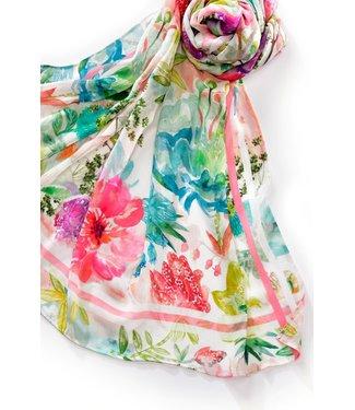 Charlie Paige Floral Print Scarf **